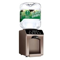 屈臣氏 家居水機 - Wats-Touch Mini 即熱式溫熱水機 (紅/白/黑/古銅金) + 8公升樽裝蒸餾水 x 12樽 (電子水券)