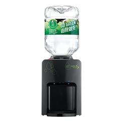 屈臣氏 家居水機 - Wats-MiniS 座檯式冷熱水機 (黑色 / 白色) + 8公升家庭裝蒸餾水 x 12樽 (電子水券)
