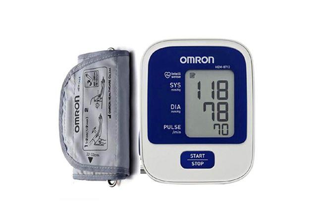 Omron Upper Arm Blood Pressure Meter