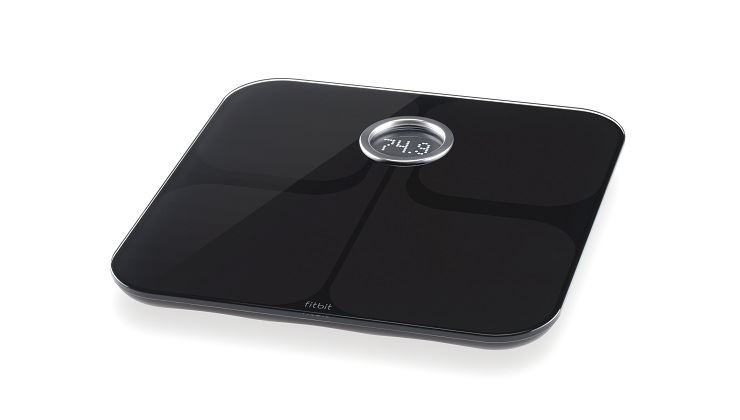 图片 Fitbit Aria 无线智能乐活体重秤-黑色