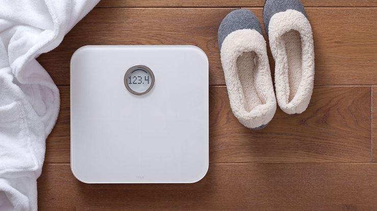 图片 Fitbit Aria 无线智能乐活体重秤-白色