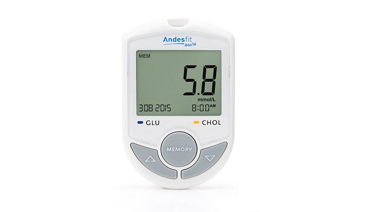 Picture of Andesfit Bluetooth 4.0 Blood Glucose / Cholesterol Meter