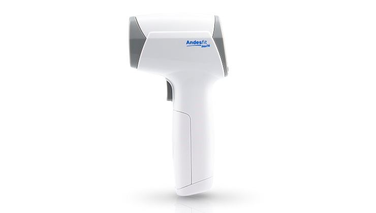 Picture of ANDESFIT Bluetooth 4.0 Non-contact infrared body / surface thermometer