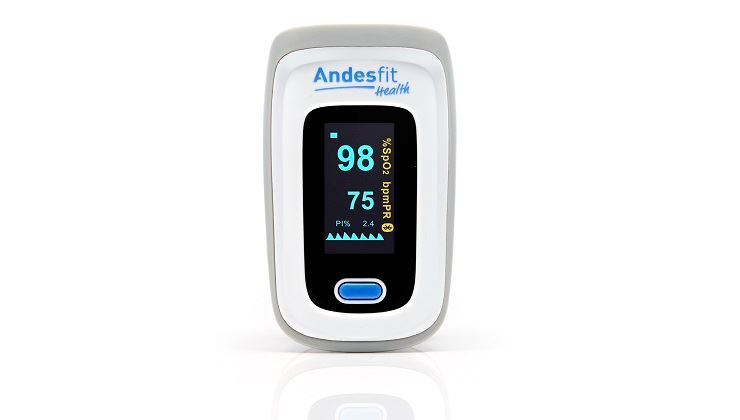 Picture of ANDESFIT Bluetooth 4.0 Pulse Oximeter