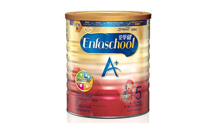 Picture of Mead Johnson Enfakid A+5 900g (Case of Twelve)