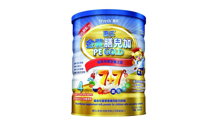 Picture of Wyeth PE Gold Stage 4 900g(Case of 6)