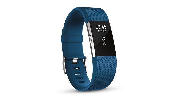 图片 Fitbit Charge 2™ 心率 + 健身手环 -  皇家蓝細码