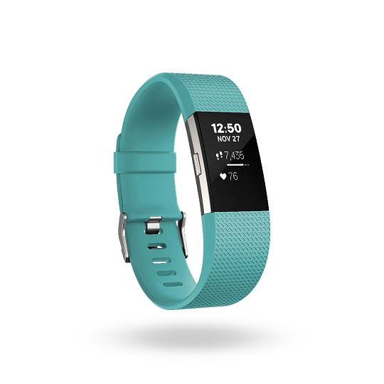 Fitbit Charge 2™ Heart Rate + Fitness Wristband -  Teal Large