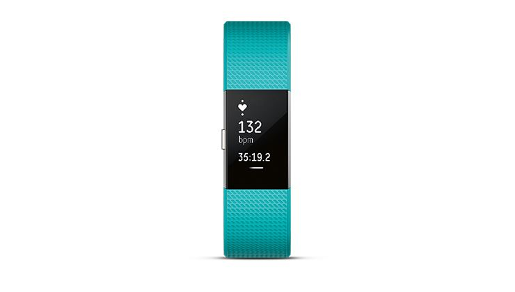 Picture of Fitbit Charge 2™ Heart Rate + Fitness Wristband -  Teal Large