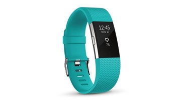 Picture of Fitbit Charge 2™ Heart Rate + Fitness Wristband -  Teal Small