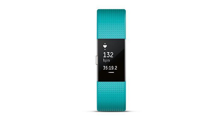 圖片 Fitbit Charge 2™ 心率 + 健身手環 - 湖水綠細碼