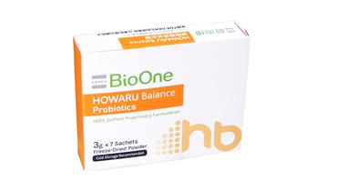 图片 BioOne HOWARU®调整体质益生菌轻便装 (1盒装 - 7包)