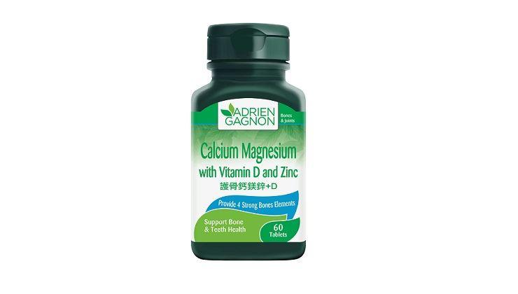 Picture of Adrien Gagnon Calcium Magnesium with Vitamin D and Zinc