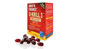 Picture of UDO'S CHOICE O-KRILL 3 500MG 60'S