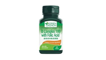 Picture of Adrien Gagnon B Complex 100 with Folic Acid