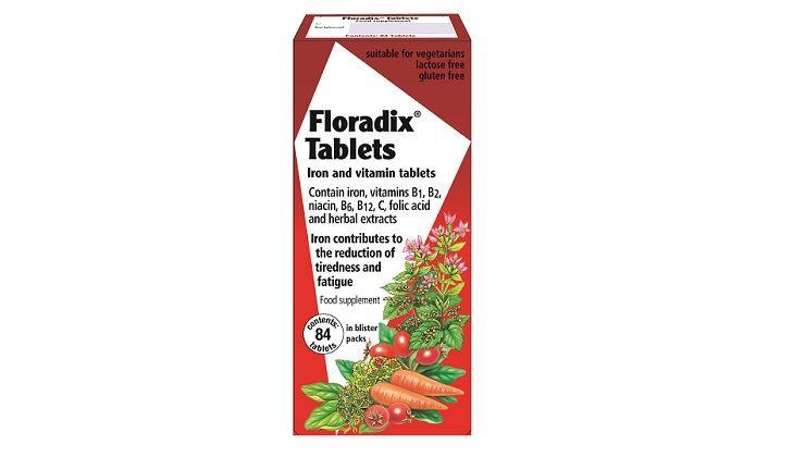 图片 Salus Floradix 铁元(84粒)