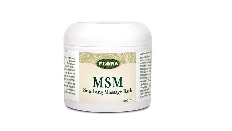 Picture of Flora MSM Relief Rub 120ml