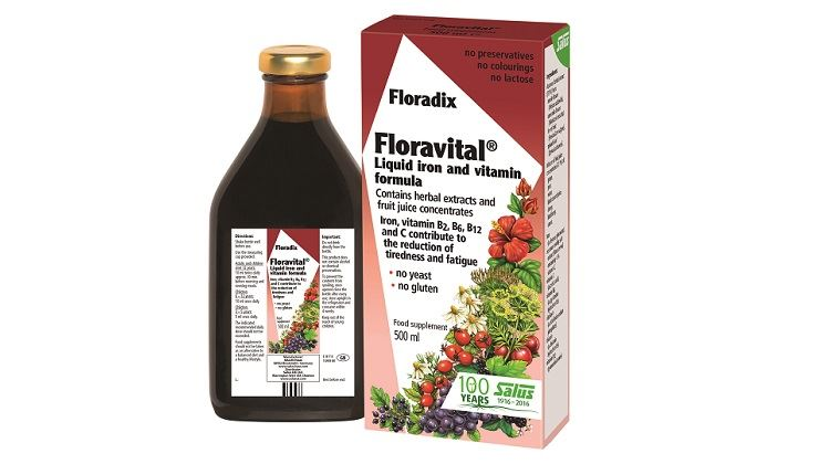 Picture of Salus Floravital® Liquid Iron and Vitamin Formula-Yeast and Gluten free 500 ml