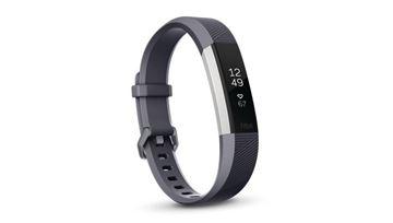 图片 Fitbit Alta HR™ 心率监测智能运动手环 - 蓝灰色细码