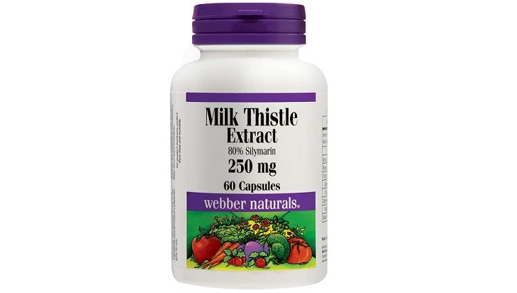 Picture of Webber Naturals Milk Thistle Extract