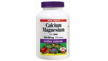 Picture of Webber Naturals Calcium Magnesium with Zinc