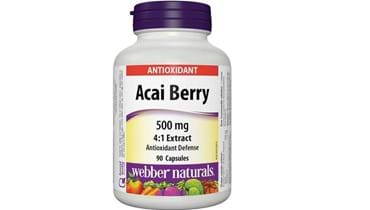 Picture of Webber Naturals Acai Berry 4:1