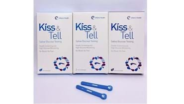 Picture of KISS & TELL (Saliva Glucose Test) (3 Boxes)