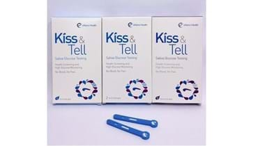 Picture of KISS & TELL (Saliva Glucose Test) (15 Boxes)
