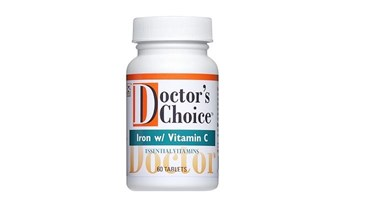 Picture of Doctor's Choice IRON WITH VITAMIN C