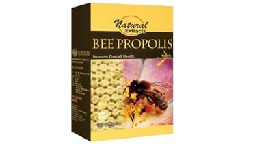 Picture of Natural Extracts Bee Propolis 100s