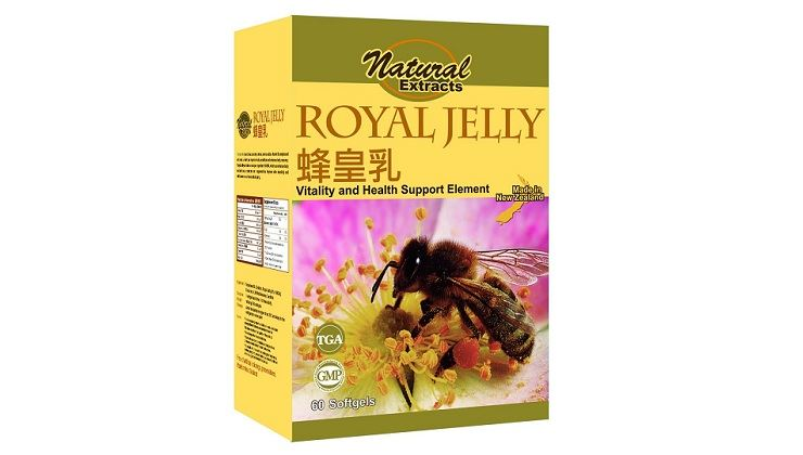 Picture of Natural Extracts Royal Jelly 60s