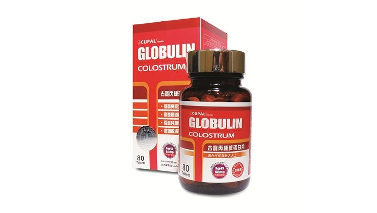 Picture of Cupal Globulin Colostrum Tab.