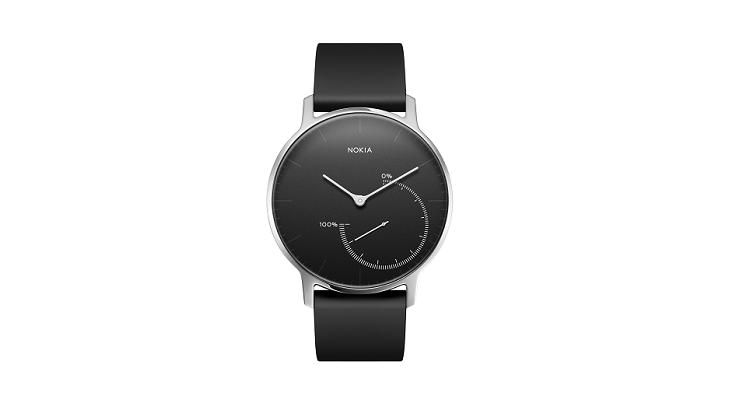 Picture of Nokia Activity & Sleep Watch Steel - Black