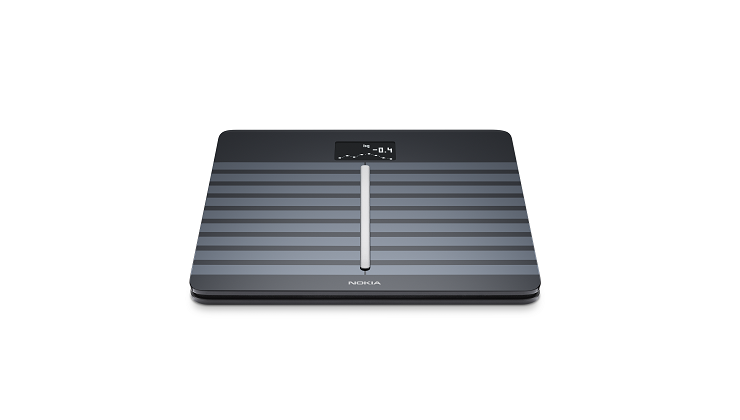 图片 Nokia 心脏健康及身体成份Wi-Fi磅 - 黑色