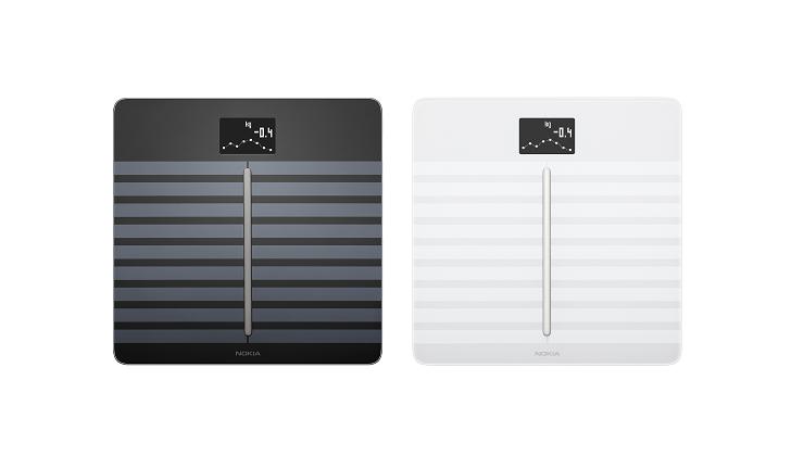 圖片 Nokia 心臟健康及身體成份Wi-Fi磅 - 黑色