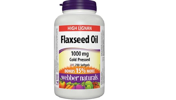 Picture of Webber Naturals Flaxseed Oil