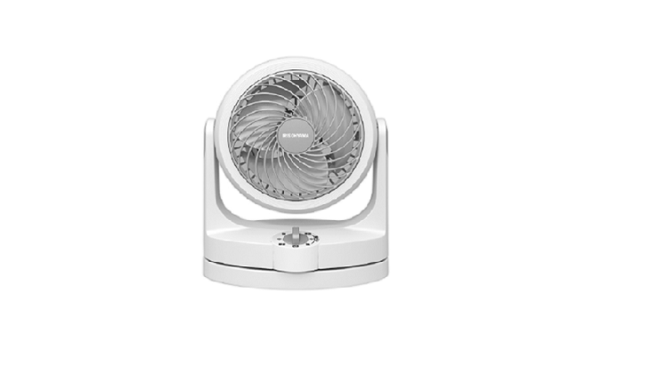 IRIS OHYAMA PCF-HD15 空氣對流靜音循環風扇 – 白色