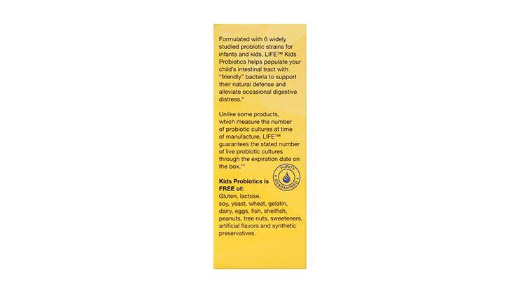圖片 LIFE Nutrition 兒童益生菌沖劑 (20包)