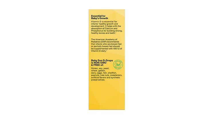 Picture of LIFE Nutrition Baby Sun Drops (5ml)