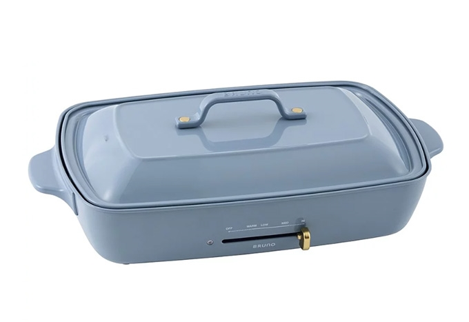 Bruno Hot Plate Grande Size (Granite Blue) (Suggested retail price: $1498)