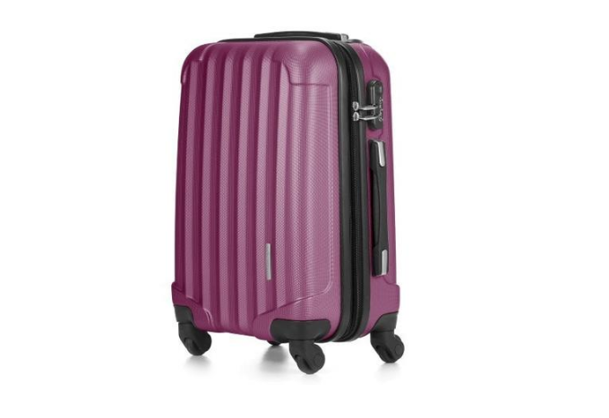 "Le Maurice Transform 28"" Suitcase (Matte Mulberry)"