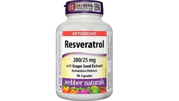 Picture of Webber Naturals Resveratrol with Grape Seed Extract