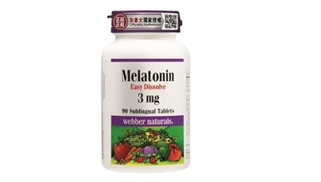 Picture of Webber Naturals Melatonin