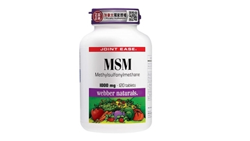 Picture of Webber Naturals MSM