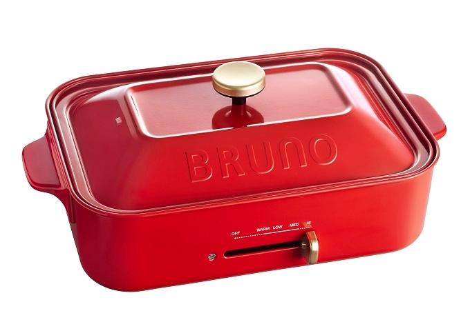 Bruno 多功能電熱鍋 (紅色) (建議零售價 $998)