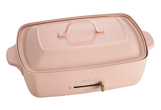 Bruno Hot Plate Grande Size (Pink) (Suggested retail price: $1498)