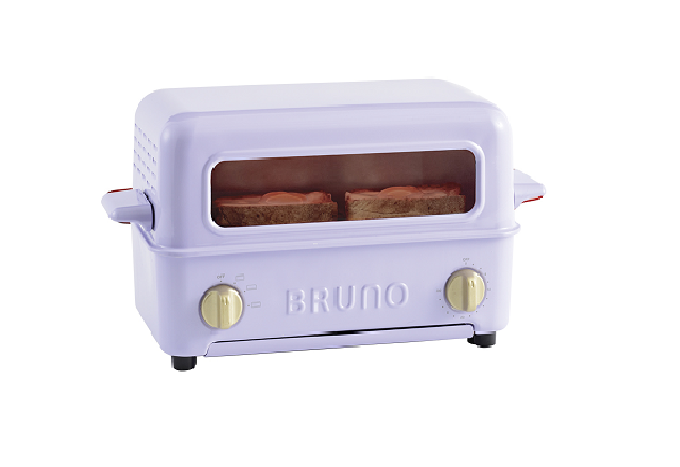 BRUNO Toaster Grill – Lavender (Retail Price: $1,098)
