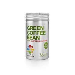 LIFE Nutrition Green Coffee Bean with Raspberry Ketones (60pcs)