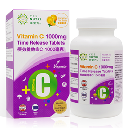 YesNutri Vitamin C 1000mg Time Release Tablets