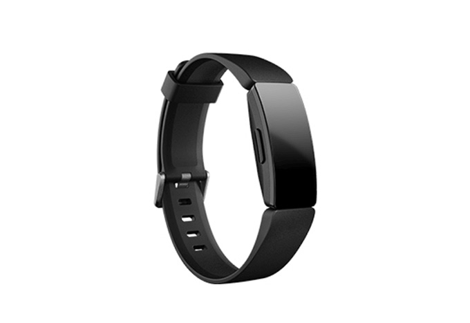 Fitbit - Inspire HR Fitness Tracker, Black (Suggested retail price: $898)